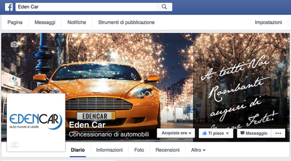 "Web Presence for ""EdenCar"""